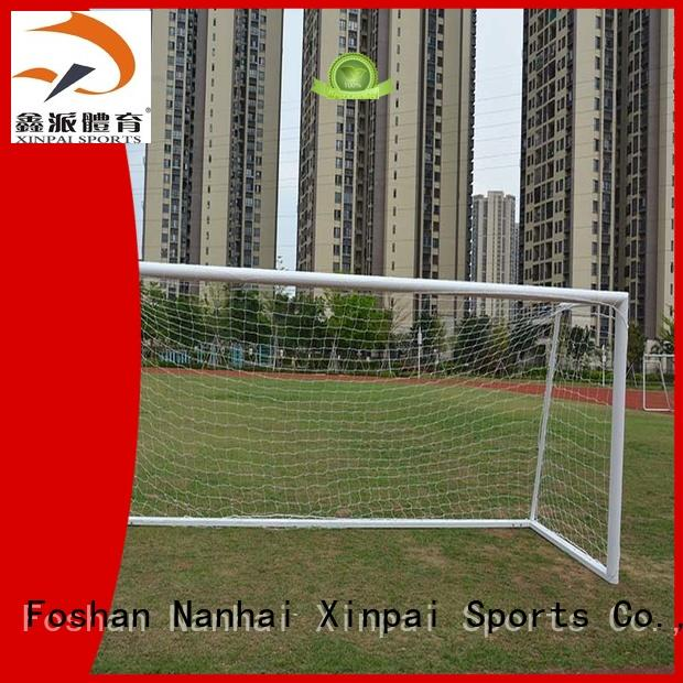 Xinpai stable aluminum soccer goal ideal for practice indoor for soccer game