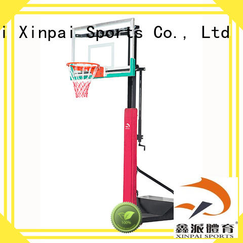cost effective adjustable basketball stand forminonepiece selection of most Guangdong schools for training