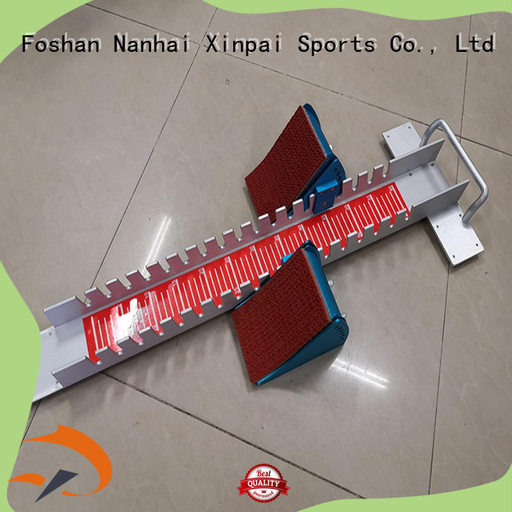 Xinpai iron track and field hurdles widely used for competition