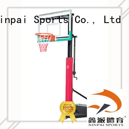 Xinpai cost effective basketball backstop rich product line for school