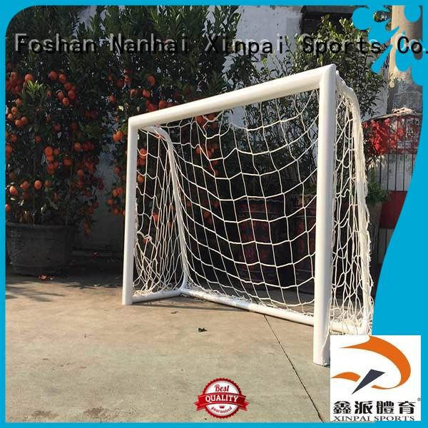 Xinpai 11on11 soccer nets for backyard strong tube for competition