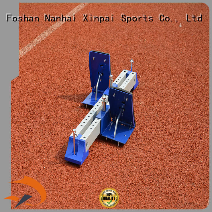 Xinpai outdoor starting block widely used for competition