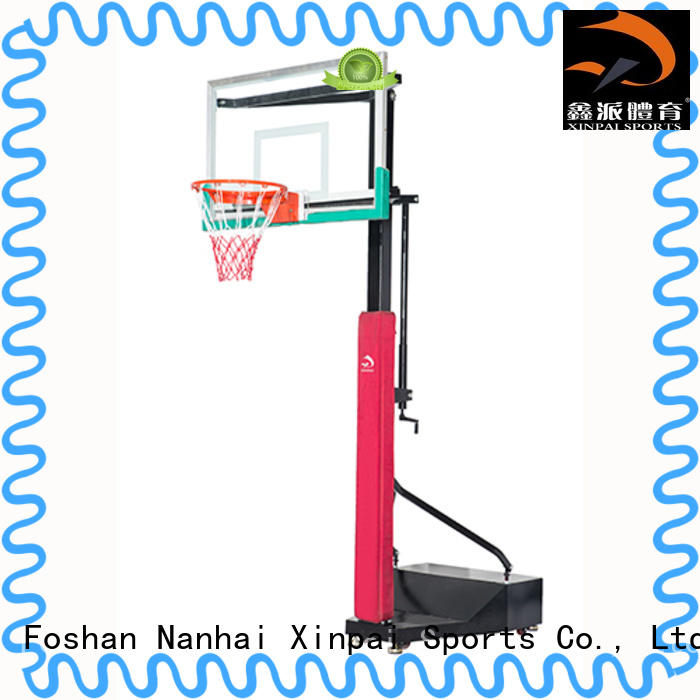 Xinpai competitive price outdoor basketball pole steel for tournament