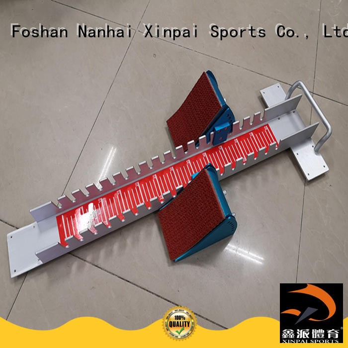 Xinpai outdoor equipment running blocks applied for tournament