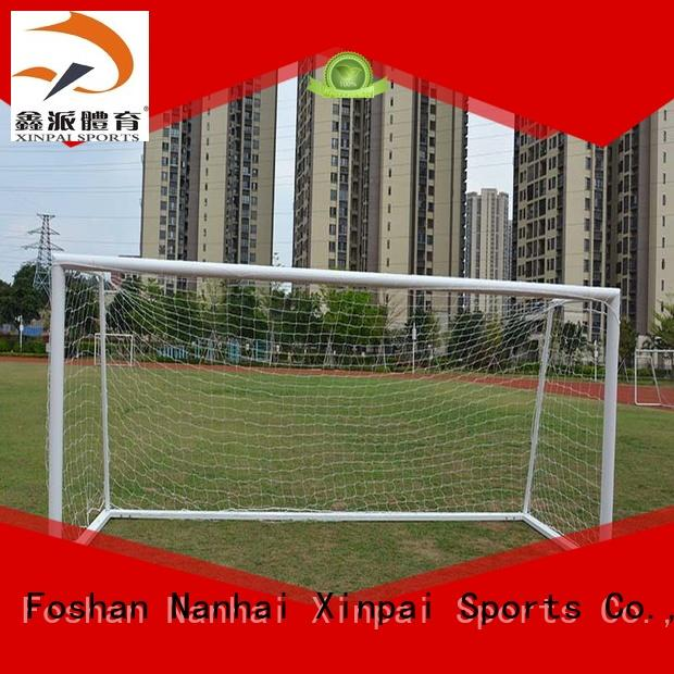 Xinpai xp033alh soccer goal post strong tube for practice indoor for soccer game