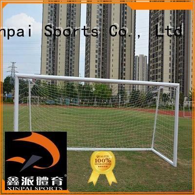Let' s see XP033ALH Football goal! Portable 8*24 ft Aluminum soccer goal football goal with steel base 7.32*2.44 meter