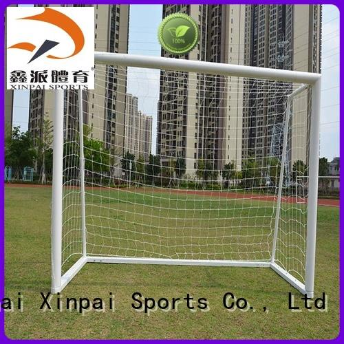 Xinpai rust resist indoor soccer goals strong tube for competition