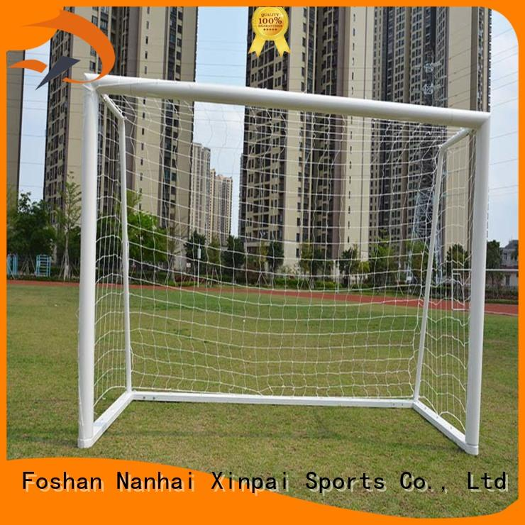 setting soccer post strong tube for practice indoor for soccer game Xinpai