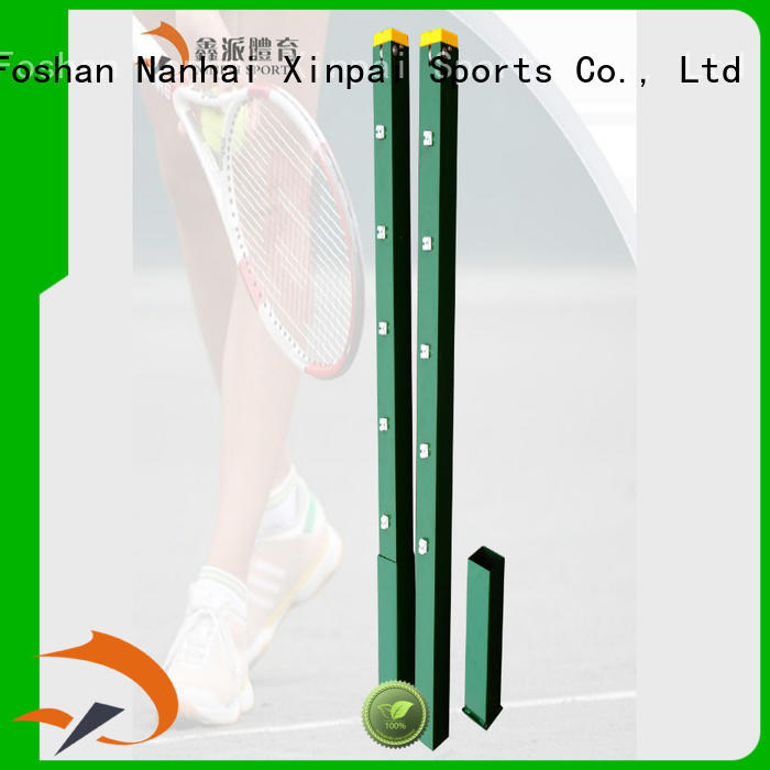 Xinpai sweeper tennis posts for sale widely used for school