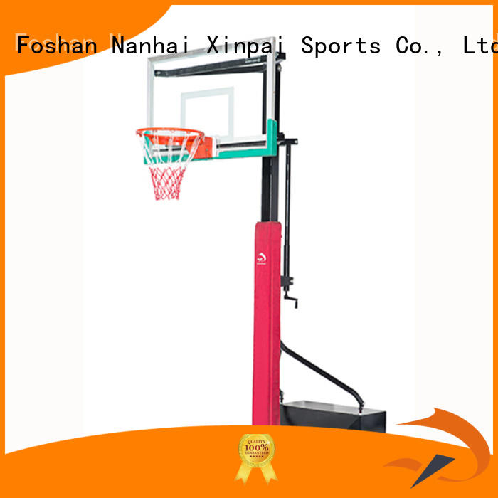 Xinpai competitive price basketball pole selection of most Guangdong schools for training