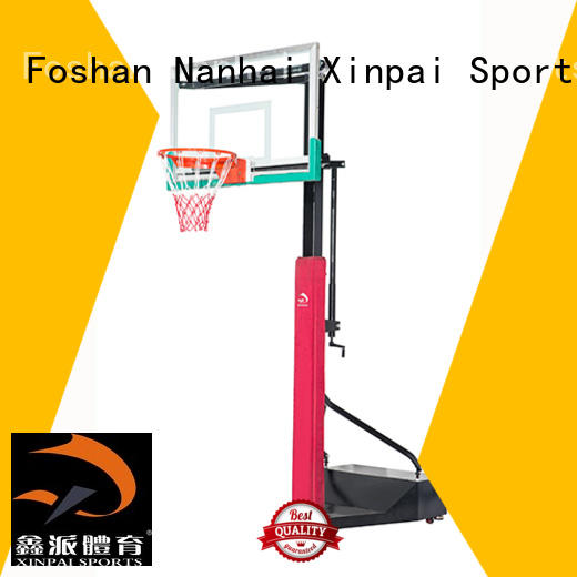 Xinpai cost effective basketball goal pole popular for school