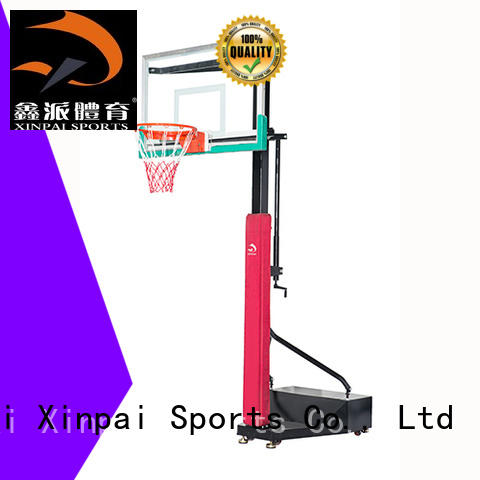Xinpai durable quality best basketball goals selection of most Guangdong schools for tournament