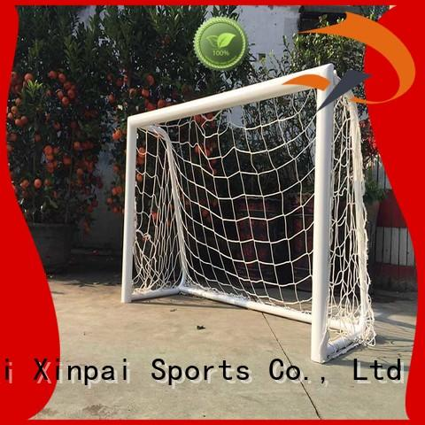 Xinpai stable aluminium soccer goals lets for school