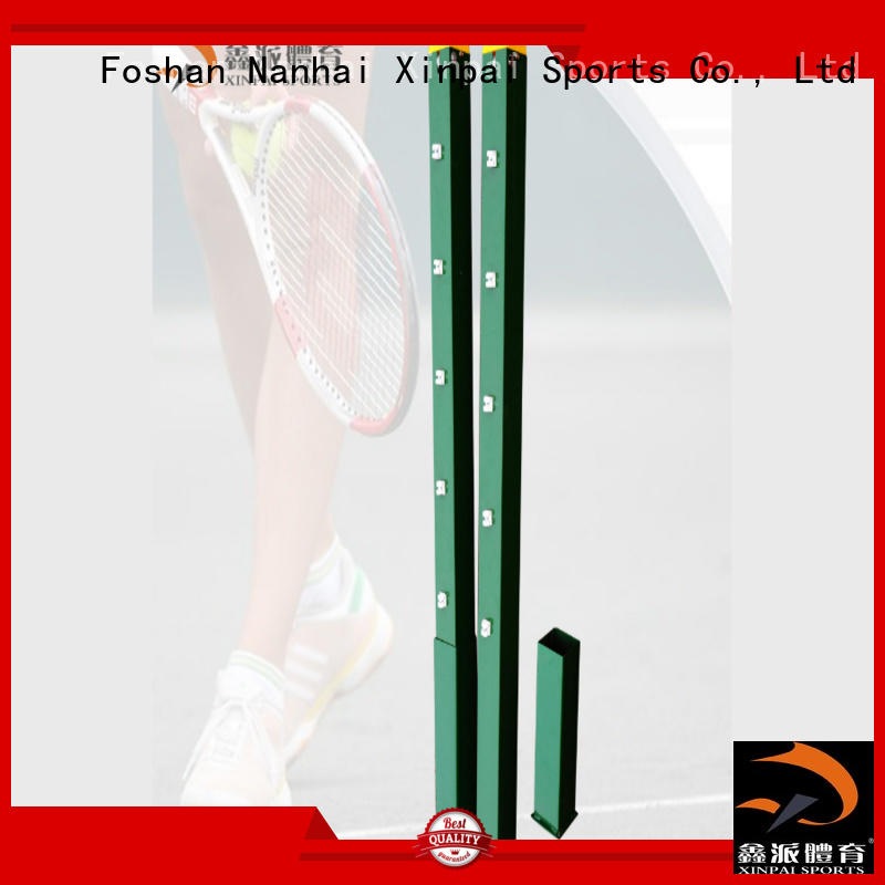 tennis court net posts for tennis game