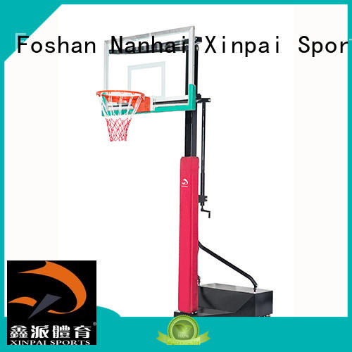Xinpai competitive price in ground basketball pole widely used for training