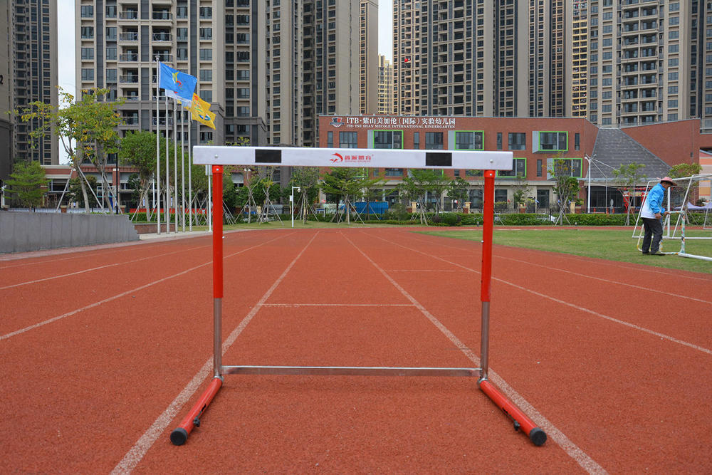 Detachable tournament hurdle XP080