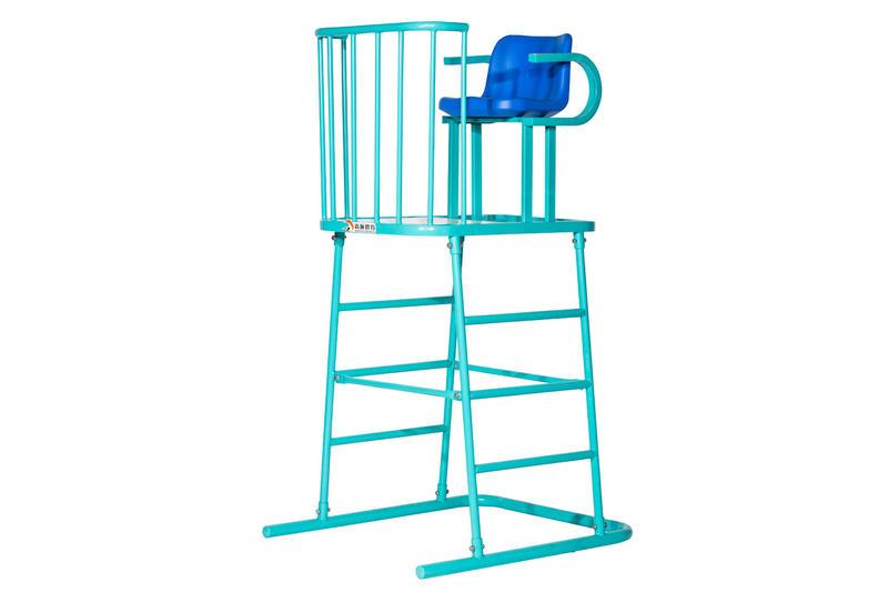 Detachable standard volleyball umpire chair
