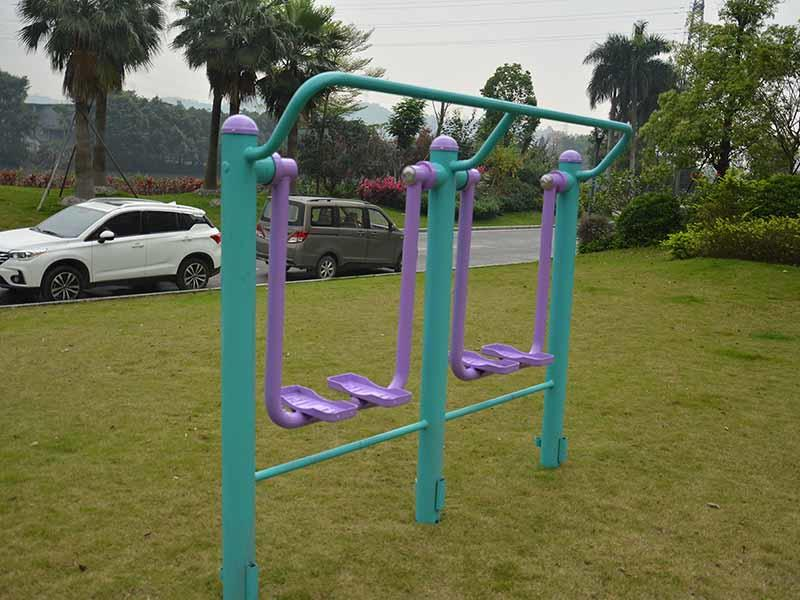 Outdoor fitness healthy path double unit air walker GB002
