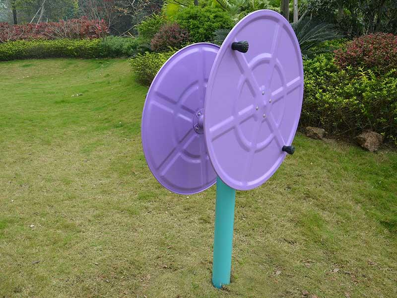 Outdoor fitness healthy path Double wheel GB008