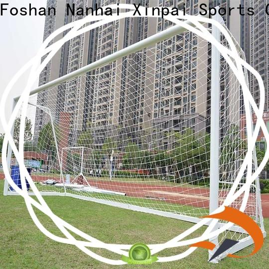 Xinpai visiting football goal nets for competition