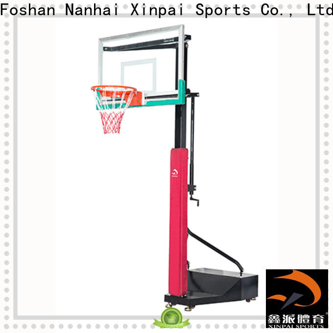 Xinpai nba basketball goal manufacturer for competition