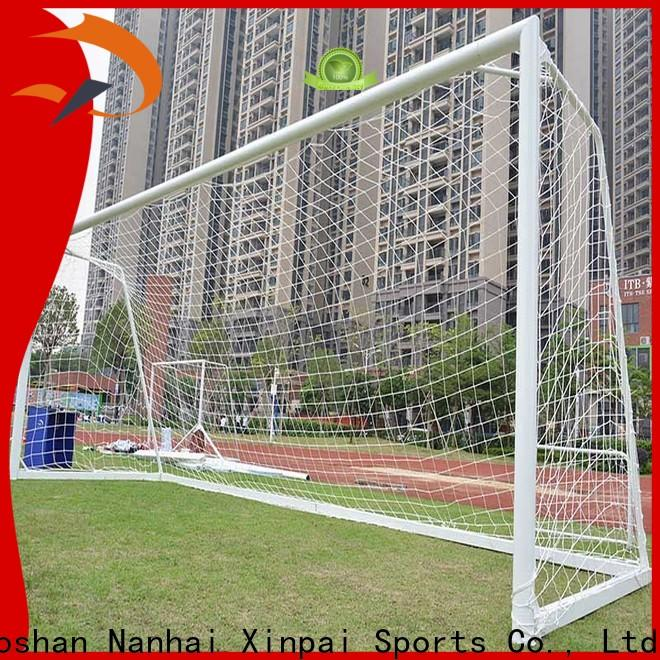 Xinpai revise 12x8 soccer goal cost for competition