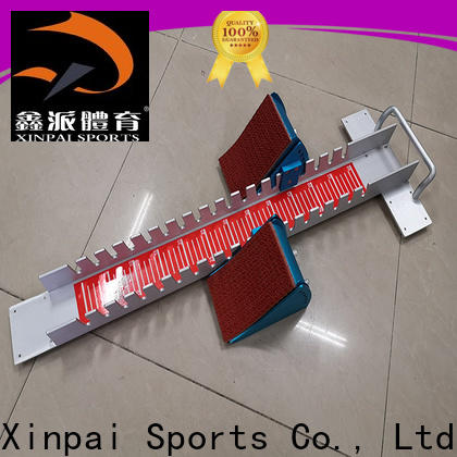 Xinpai iron starting block supplier for competition