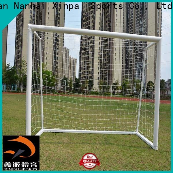 Xinpai thanks good soccer goals supply for training