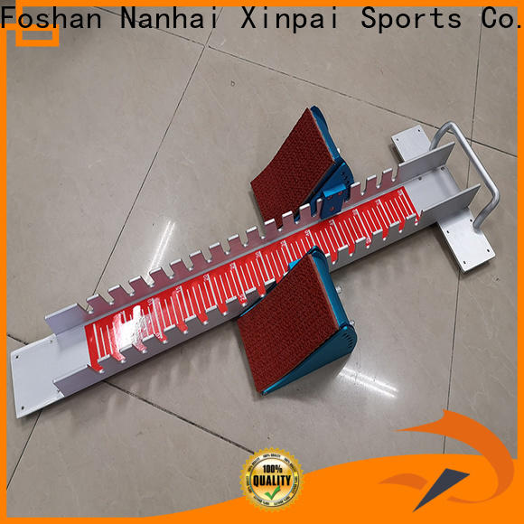 Xinpai Best running blocks cost for competition
